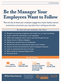 Be the Manager Your Employees Want to Follow