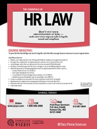 The Essentials of HR Law
