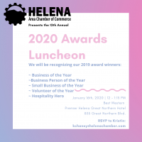 Helena Chamber Annual Awards Luncheon 2020