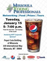 Missoula Young Professionals - Pepsi Bottling of Missoula