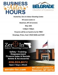 Business After Hours - Zero In Indoor Shooting Center