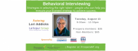 Advanced Human Resources: Behavioral Interviewing