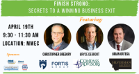 Finish Strong: Secrets to a Winning Business Exit