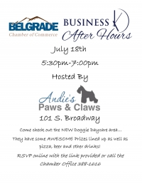 Business After Hours - Andie's Paws & Claws