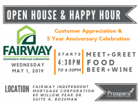 Open House | Fairway Independent Mortgage Corporation