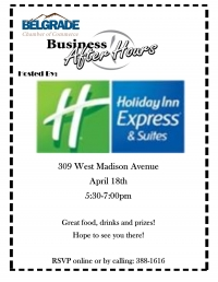 Business After Hours - Holiday Inn Express & Suites