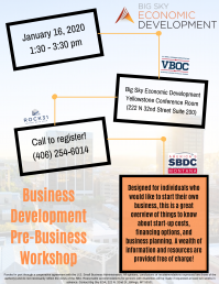 Business Development Pre-Business Workshop