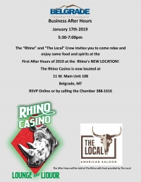 Business After Hours - Rhino Casino
