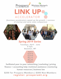 Link Up Accelerator for Women - Spring