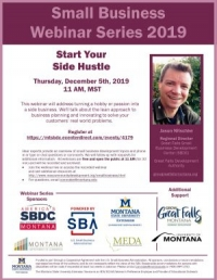 The Small Business Webinar Series: Start Your Side Hustle