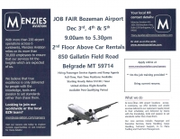 Job Fair - Bozeman Airport