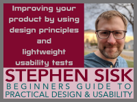 12/11: A Beginner's Guide to Practical Design & Usability