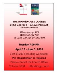 Boundaries Course