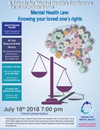 Mental Health Law: Knowing your loved one's rights