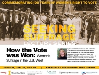 How the Vote was Won: Women's Suffrage in the U.S. West