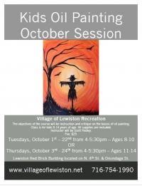 Oil Painting for Kids - October Session