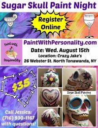 Sugar Skull Paint Night