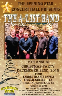A-List Band Christmas Party