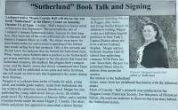 """Sutherland"" - M.C. Hall"