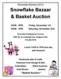 Riverside Church Bazaar & Basket Auction