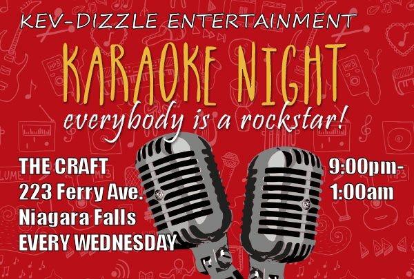 Karaoke 11 28 2018 Niagara Falls The Craft Kitchen Bar Music