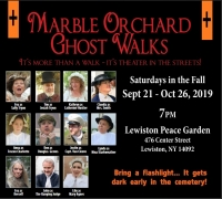Marble Orchard Ghost Walks