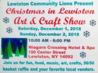 Christmas In Lewiston: Art & Craft Show