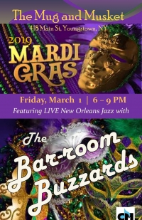 "Barroom Buzzards ""Mardi Gras Night"""