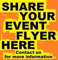 Share Your Event Flyers