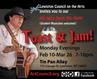 Toast & Jam Open Mic Series
