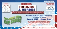 5th Hounds & Heroes Car Cruise