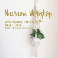 Macrame Workshop @ Kenan Center