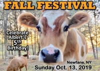 Fall Festival for Farmed Animals- Albert's 5th Birthday