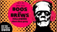 BOOS & BREWS Halloween Silent Disco Party!