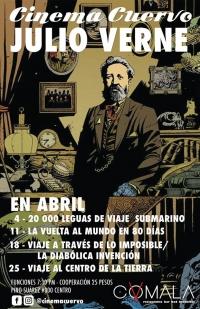 Cinema Cuervo - Jules Verne / Julio Verne