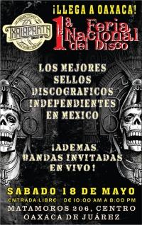 1st National Record Fair / 1a Feria Nacional del Disco