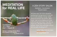 Meditation and Conversation for Real Life: A Zen Salon
