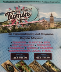 4th Festival de Tumin -  Tamazulápam del Progreso