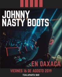 Johnny Nasty Boots in concert