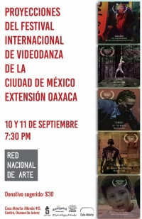Films from the Mexico City Videodance Festival