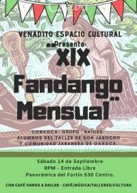 XIX Fandango Monthly / Mensual