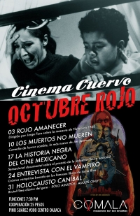 Cinema Cuervo Red October / October Rojo