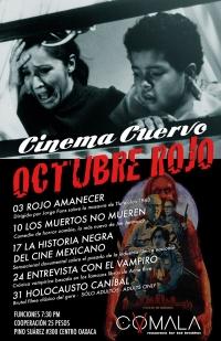 Cinema Cuervo Red October / October Rojo
