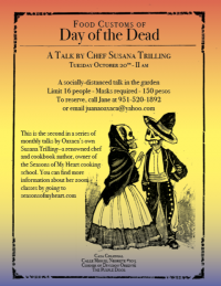 Food Customs of Day of the Dead: Talk by Susana Trilling