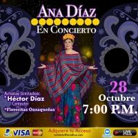 Online: Ana Diaz in Concert