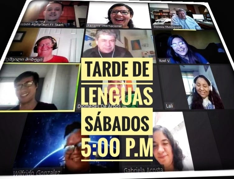 ONLINE: Afternoon of Languages / Tarde le lenguas