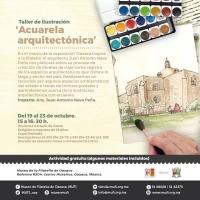 Architectural Watercolor Illustration / Acuarela arquitectónica