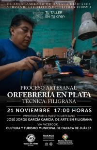 Art of Silver Filagree / Orfebrería en Plata: Filigrana