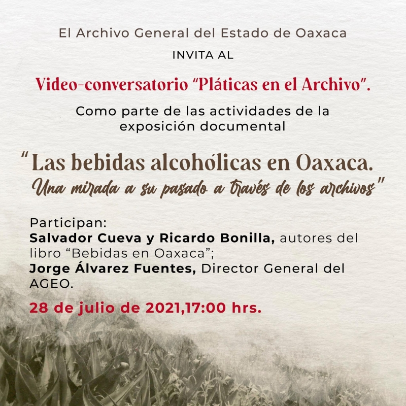 Alcoholic Drinks in Oaxaca / Las bebidas alcohólicas en Oaxaca