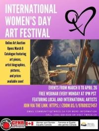 Art Festival and Webinar/ Fiesta de arte y seminario del web